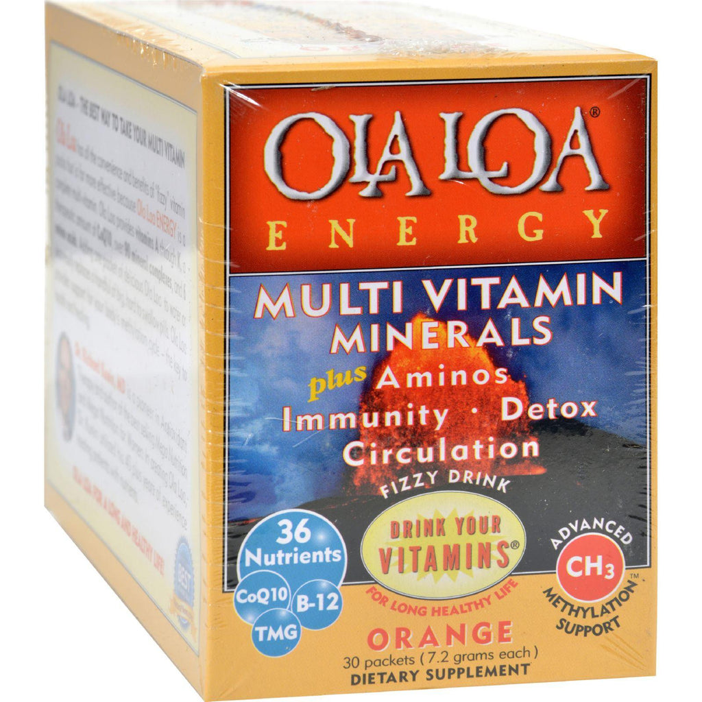 Energy Supr Multi Orange 30 PKT - Ola Loa-Ola Loa Products-pantryperks