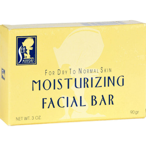Sea Minerals Moisturizing Facial Bar - 3 Oz-Sea Minerals-pantryperks