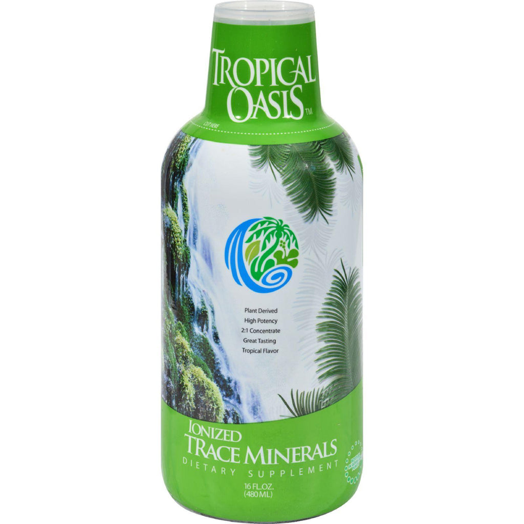 Tropical Oasis Ionized Trace Minerals - 16 Fl Oz-Tropical Oasis-pantryperks