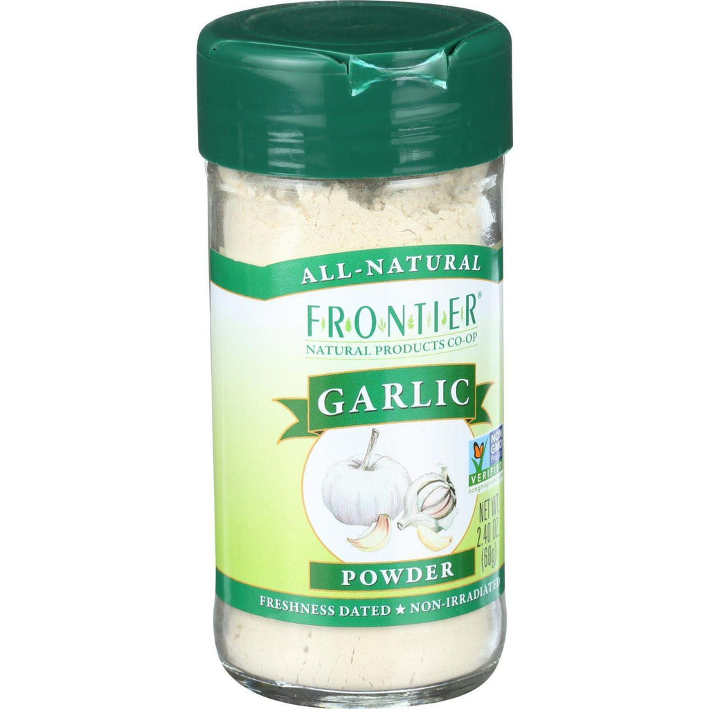 Frontier Herb Garlic - Powder - 2.4 Oz-Frontier Herb-pantryperks
