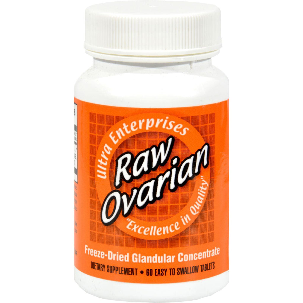 Ultra Glandulars Raw Ovarian - 200 Mg - 60 Tablets-Ultra Glandulars-pantryperks