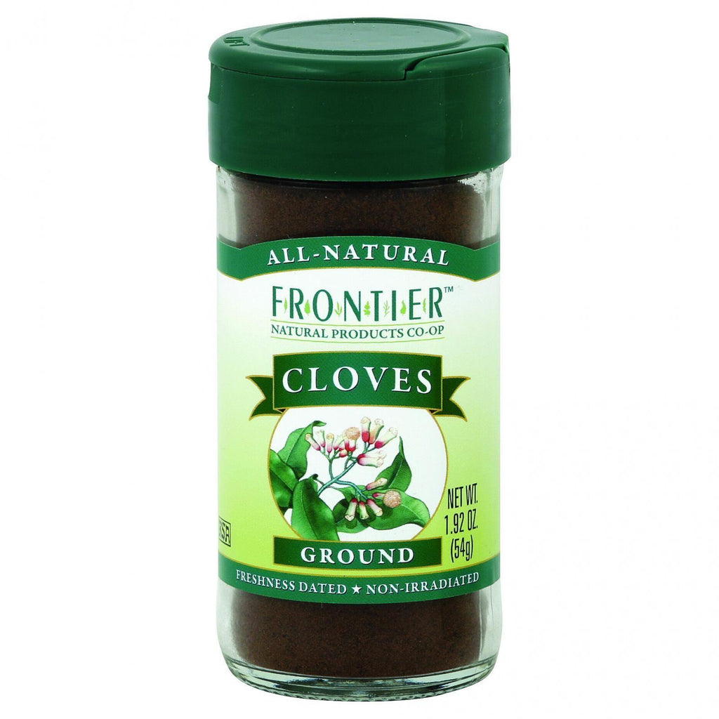 Frontier Herb Cloves - Ground - 1.92 Oz-Frontier Herb-pantryperks