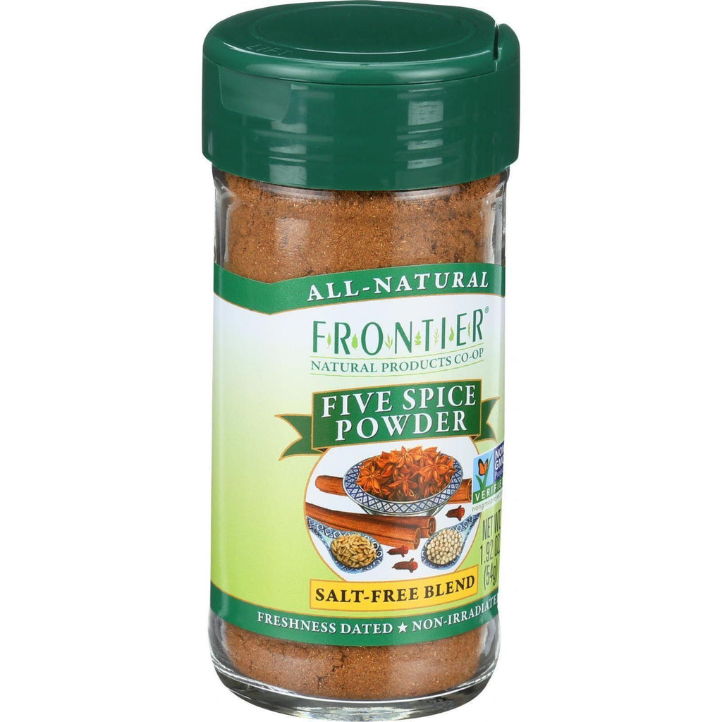 Frontier Herb Chinese Five Spice Seasoning - 1.92 Oz-Frontier Herb-pantryperks