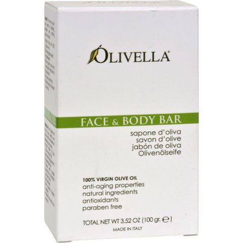 Olivella Face And Body Bar - 3.52 Oz-Olivella-pantryperks