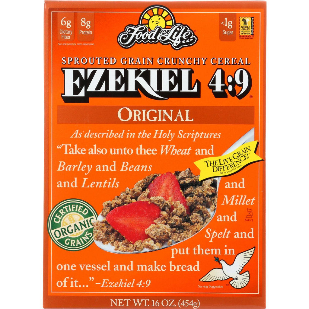 Food For Life Ezekiel 4:9å¨ Sprouted Grain Cereal Original - 16 oz-Food For Life Baking Co.-pantryperks