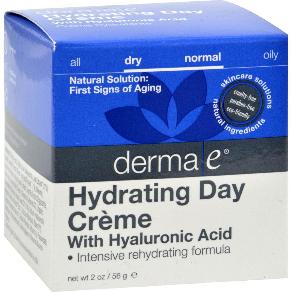 DERMA E Hydrating Day Cream with Hyaluronic Acid 2oz-Derma E-pantryperks