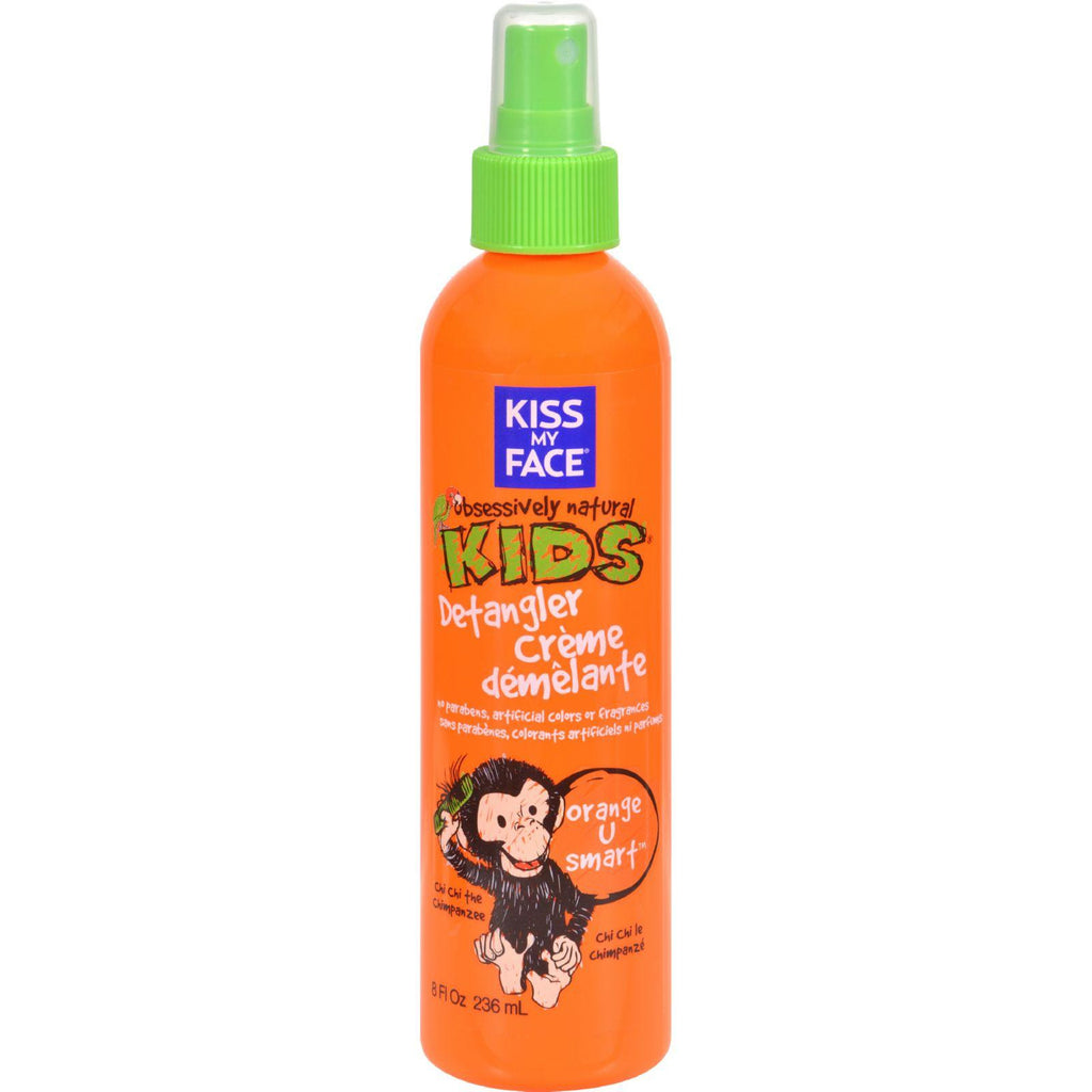 Kiss My Face Kids䋢 Detangler Creme Orange U Smart䋢 - 8 fl oz-Kiss My Face-pantryperks