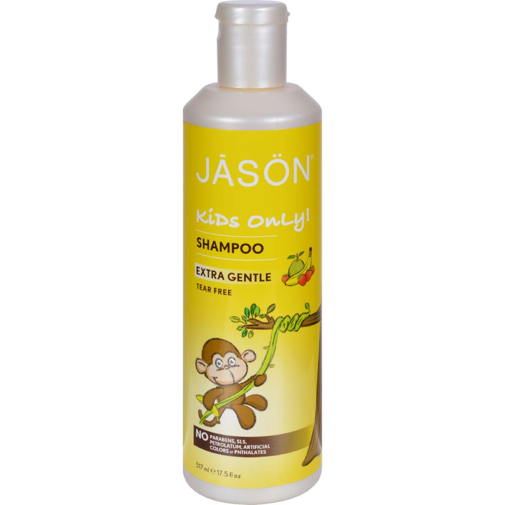 Jason Kids Only Shampoo Extra Gentle - 17.5 fl oz-Jason Natural Products-pantryperks