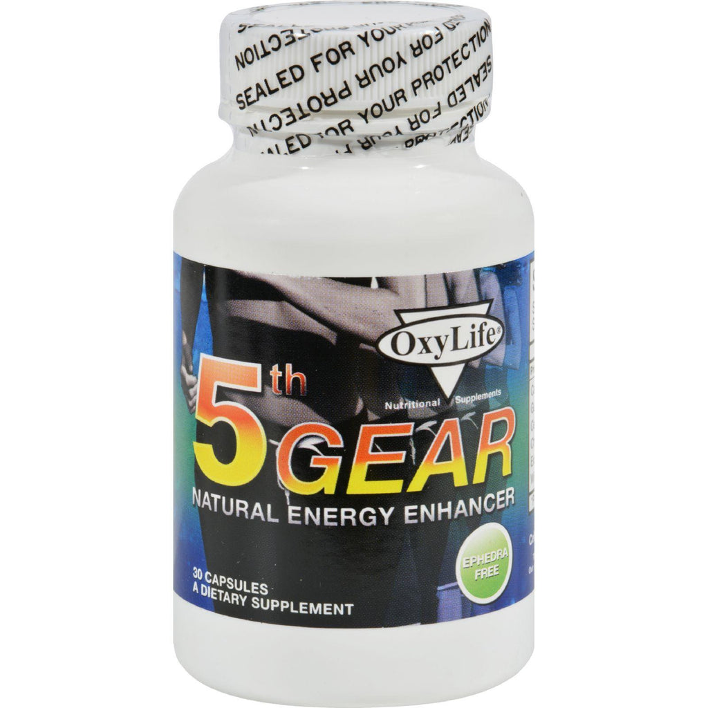 Oxylife 5th Gear - 30 Capsules-Oxylife Products-pantryperks