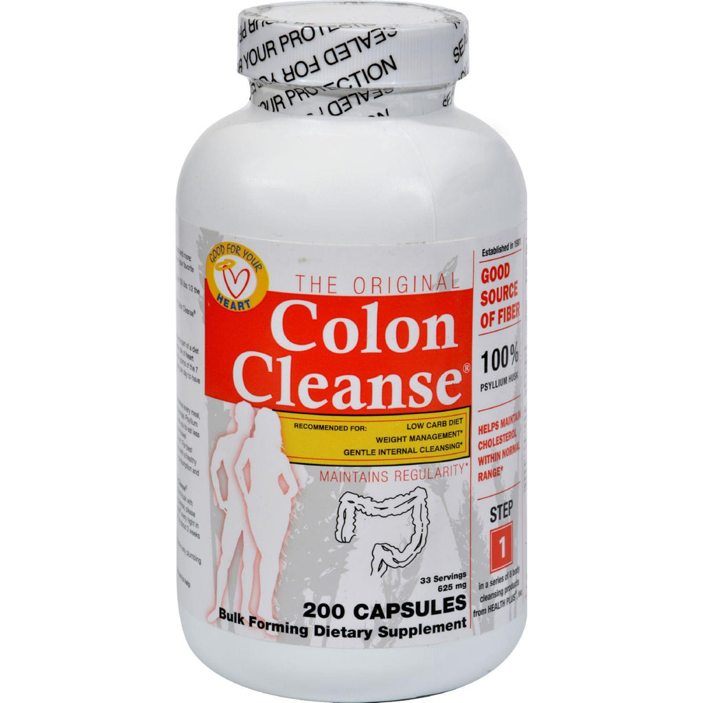Health Plus The Original Colon Cleanse - 200 Capsules-Health Plus-pantryperks