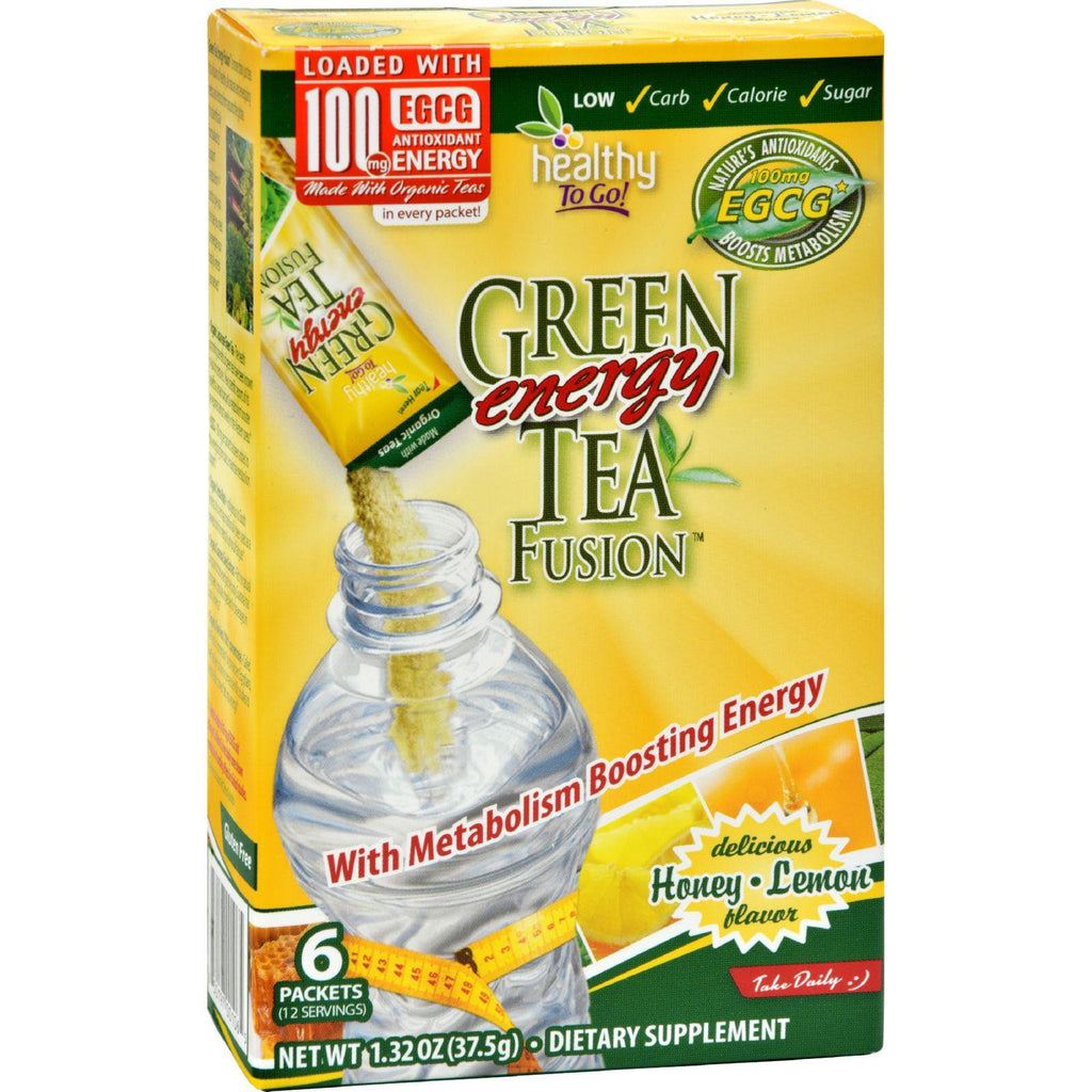 To Go Brands Green Tea Energy Fusion - 6-1.32oz-To Go Brands-pantryperks