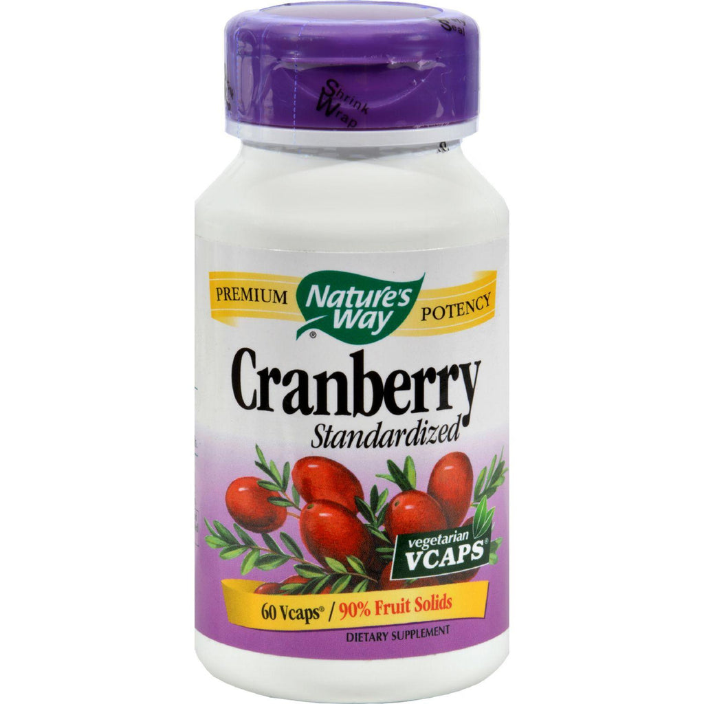 Nature's Way Cranberry Standardized - 60 Vcapså¨-Nature's Way-pantryperks