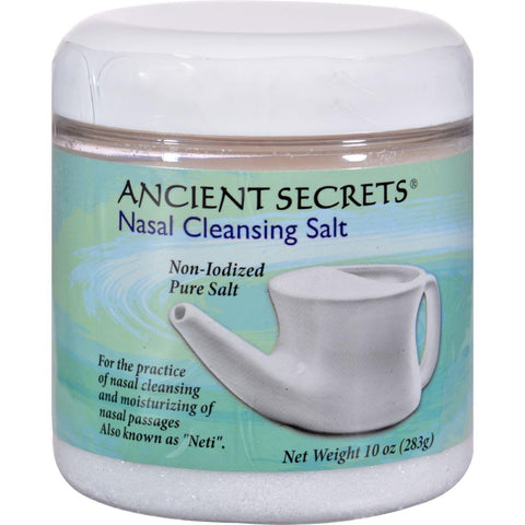 Ancient Secrets Nasal Cleansing Salt - 10 oz-Ancient Secrets-pantryperks