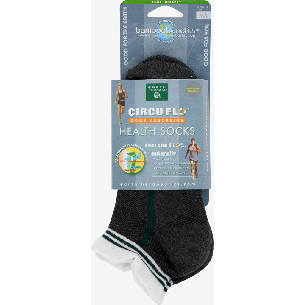 Earth Therapeutics Socks Circu-flo - Medium-large - 1 Pair-Earth Therapeutics-pantryperks
