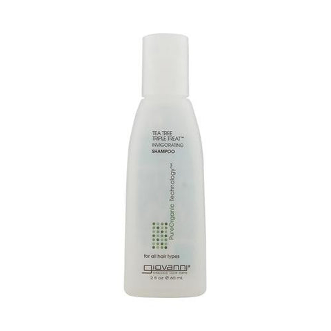 Giovanni Shampoo Tea Tree Triple Treat䋢 - 2 fl oz-Giovanni Hair Care Products-pantryperks