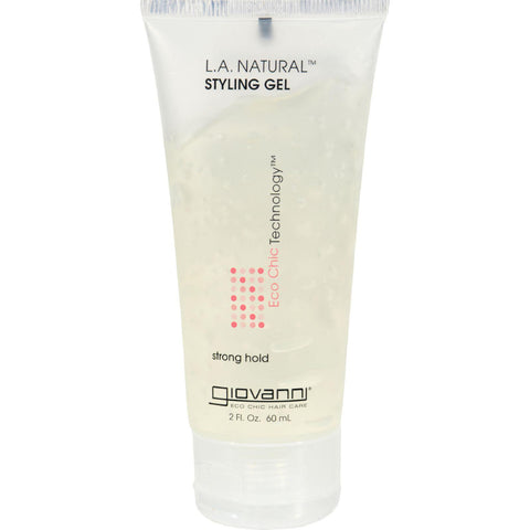 Giovanni L.A. Natural䋢 Styling Gel - 2 fl oz-Giovanni Hair Care Products-pantryperks