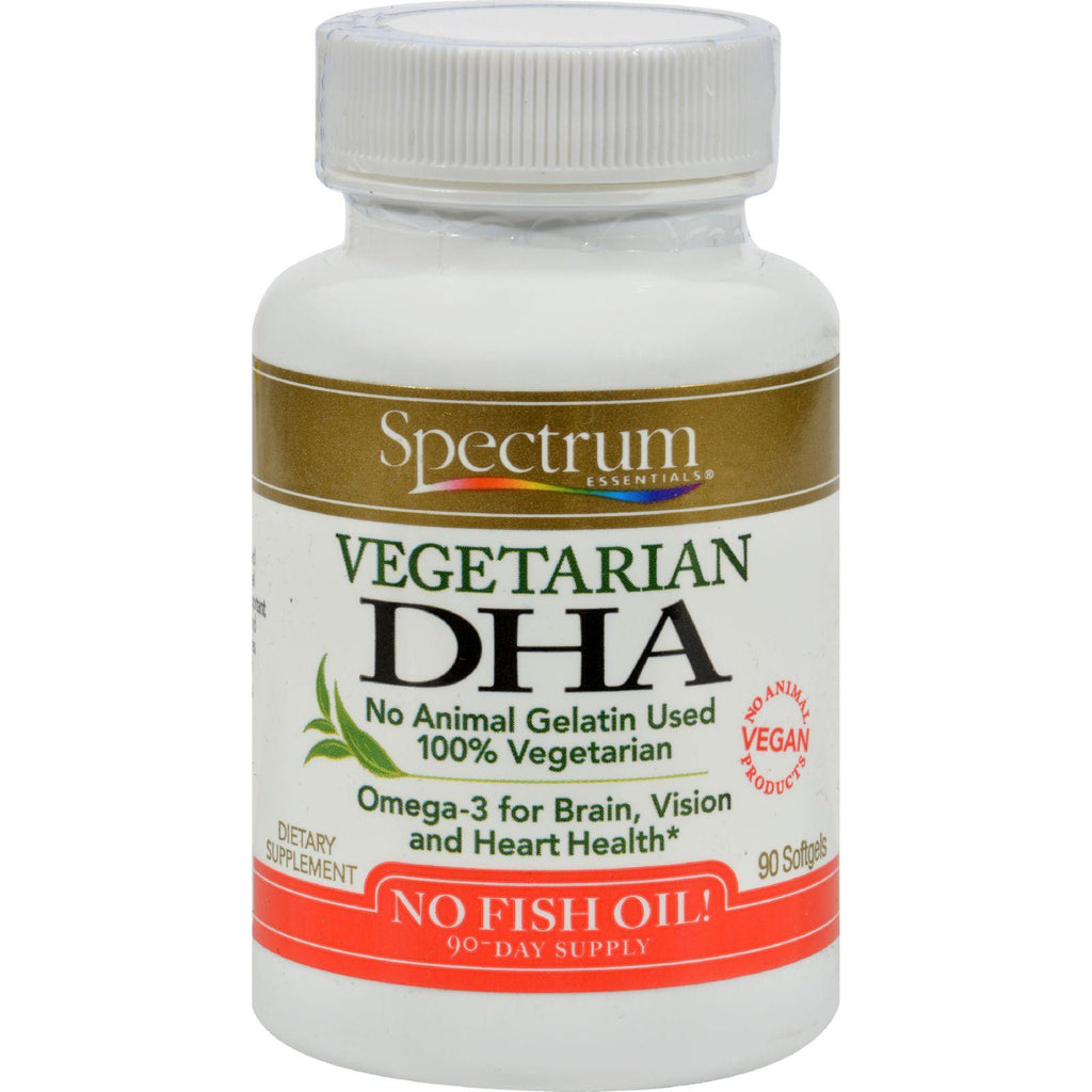 Spectrum Essentials Vegetarian DHA - 90 Softgels-Spectrum Essentials-pantryperks