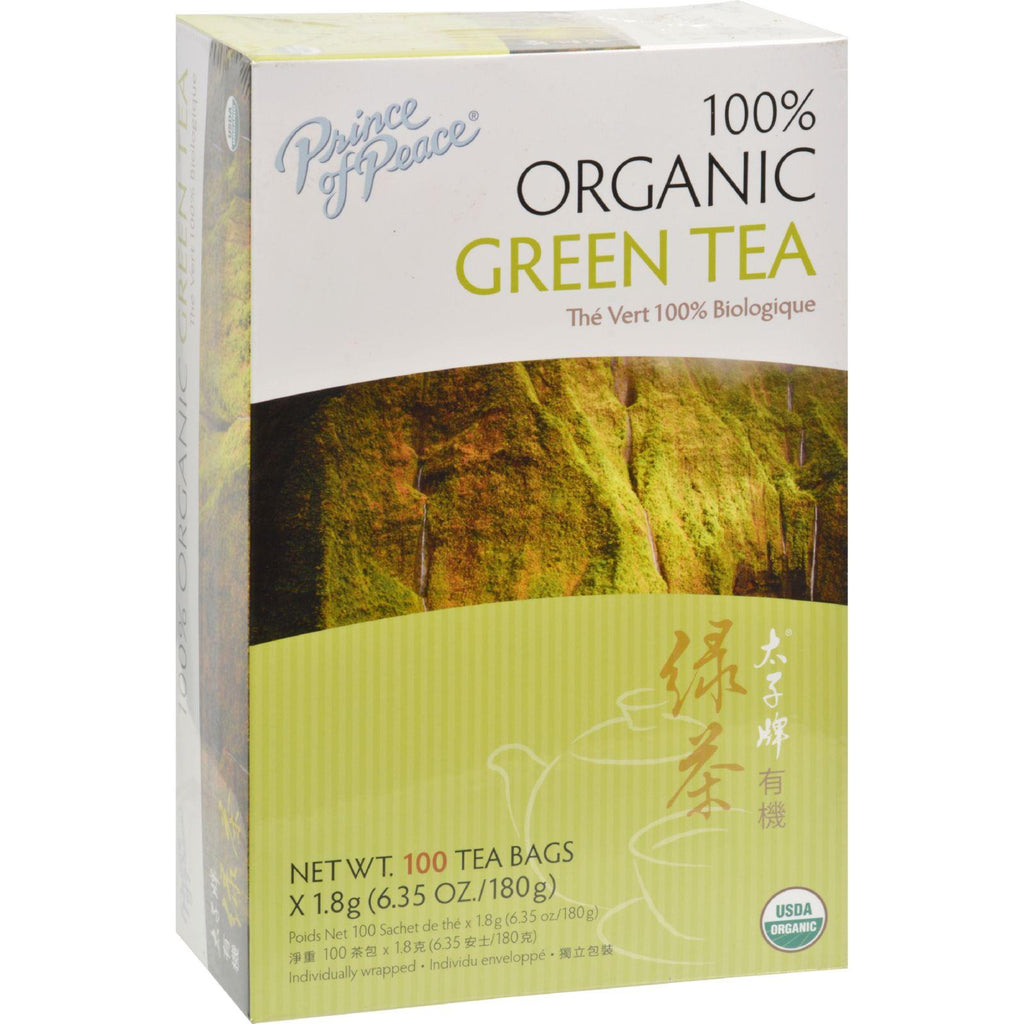 Prince of Peace Organic Green Tea - 100 Tea Bags-Prince Of Peace-pantryperks