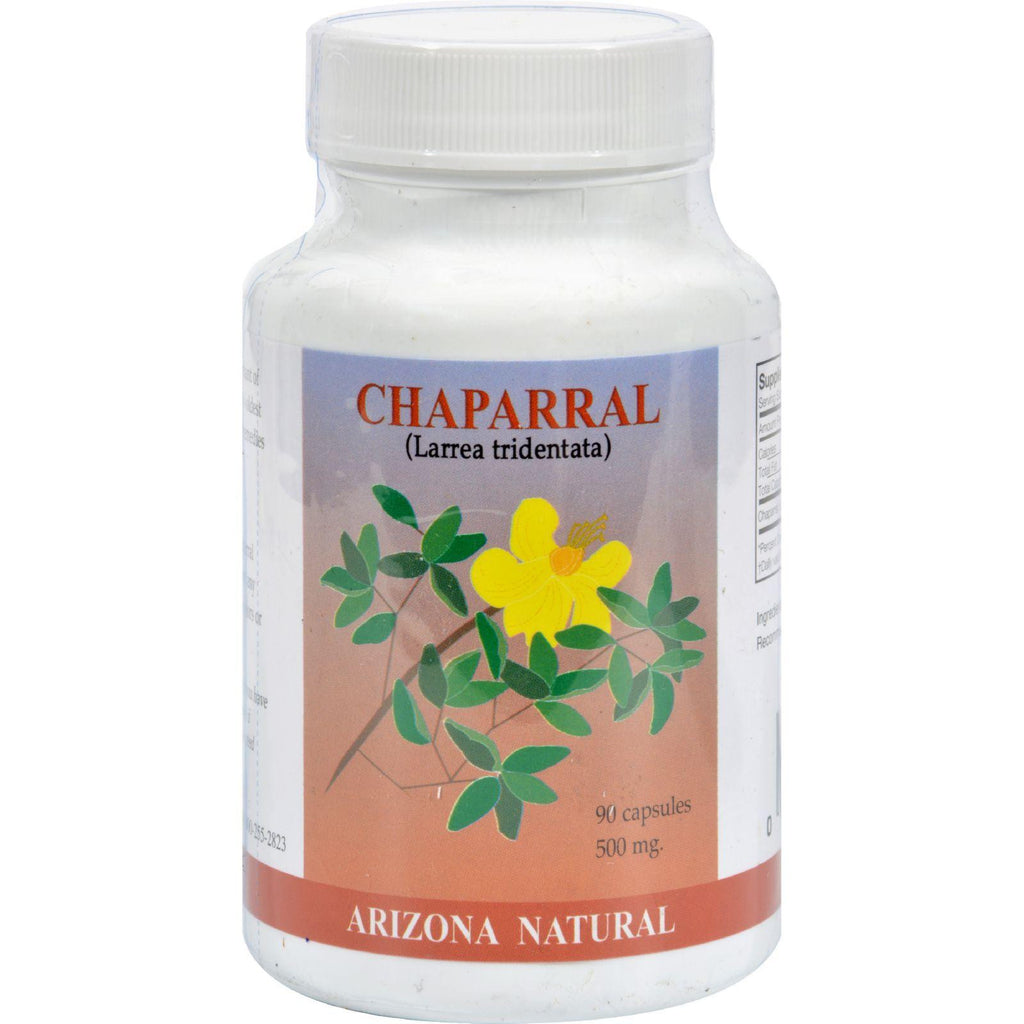 Arizona Natural Resource Chaparral - 500 Mg - 90 Capsules-Arizona Natural Resource-pantryperks