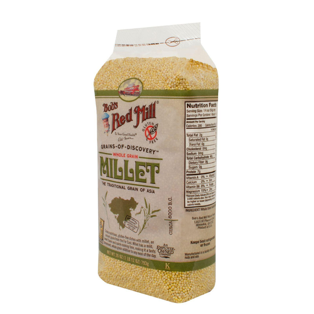 Bob's Red Mill Grains-Of-Discovery Whole Grain Millet - 28 oz-Bob's Red Mill-pantryperks