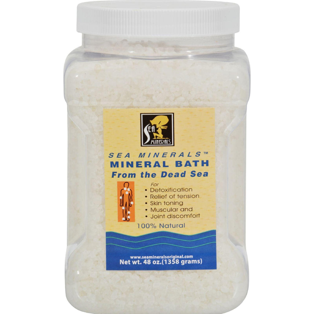 Sea Minerals Mineral Bath From The Dead Sea - 48 Oz-Sea Minerals-pantryperks