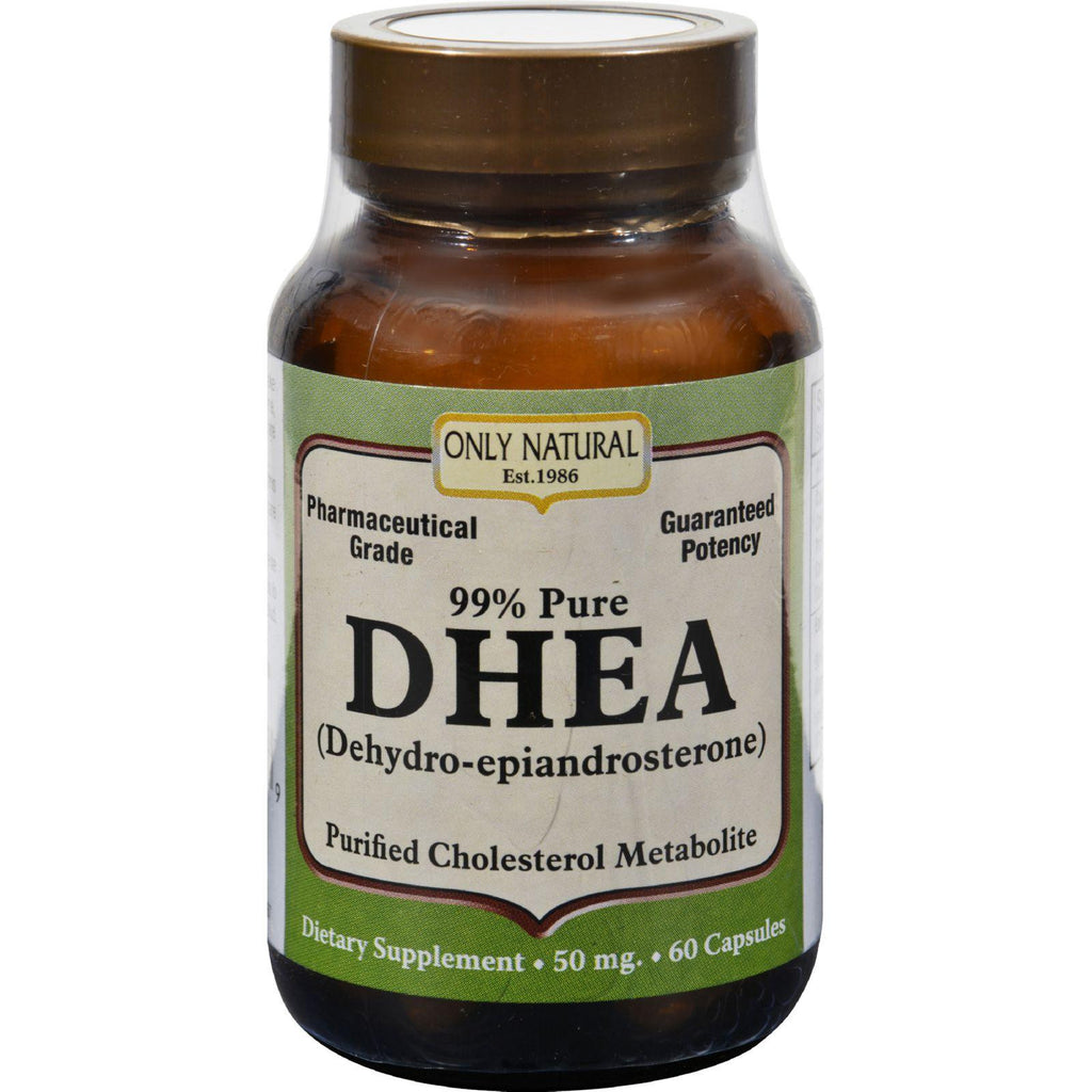 Only Natural Dhea - 50 Mg - 60 Capsules-Only Natural-pantryperks