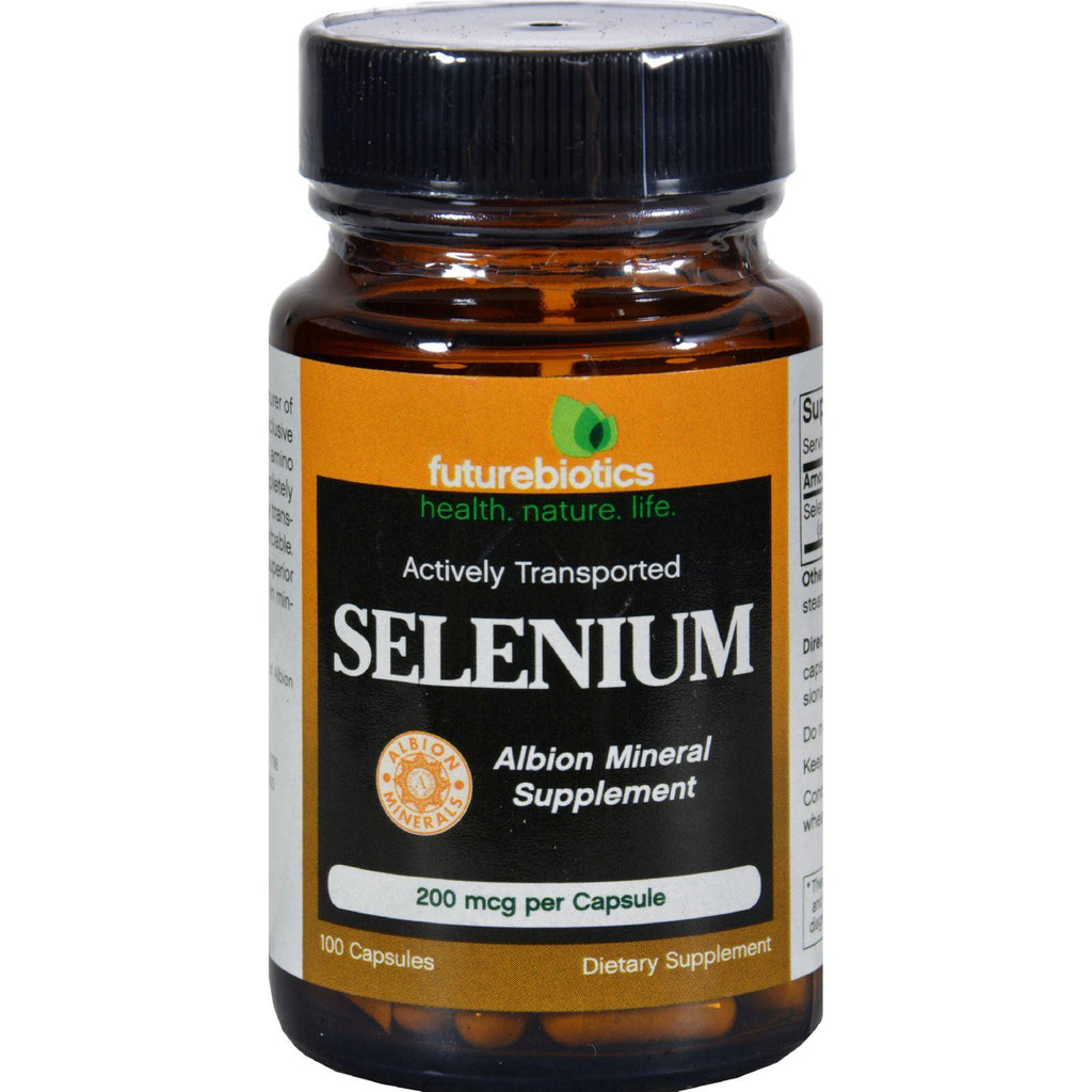 Futurebiotics Selenium - 200 Mcg - 100 Capsules-Futurebiotics-pantryperks