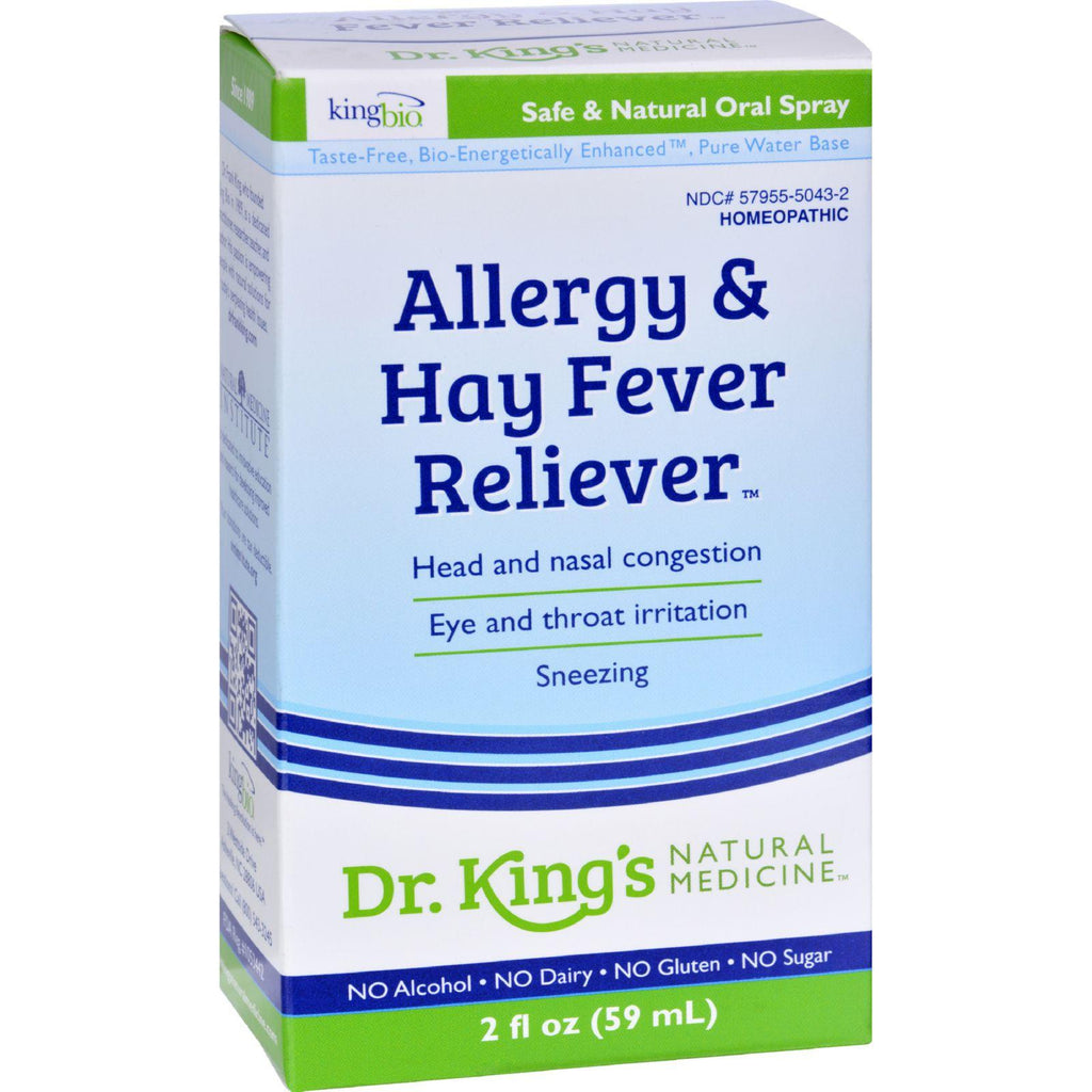 King Bio Homeopathic Allergies And Hay Fever - 2 Fl Oz-King Bio Homeopathic-pantryperks