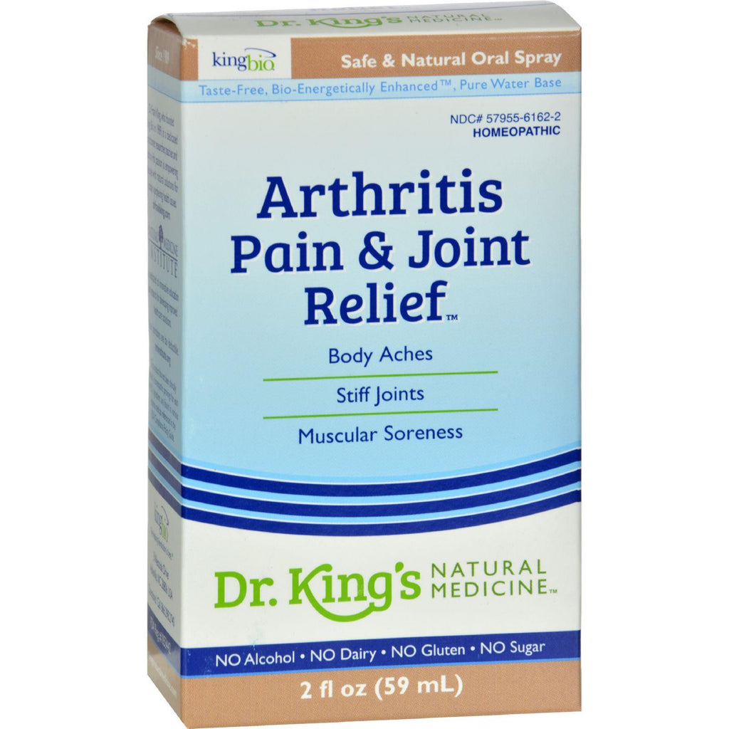 King Bio Homeopathic Arthritis And Joint Relief - 2 Fl Oz-King Bio Homeopathic-pantryperks