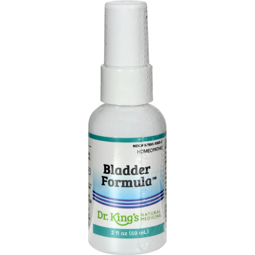 King Bio Homeopathic Bladder Incontinence - 2 Fl Oz-King Bio Homeopathic-pantryperks