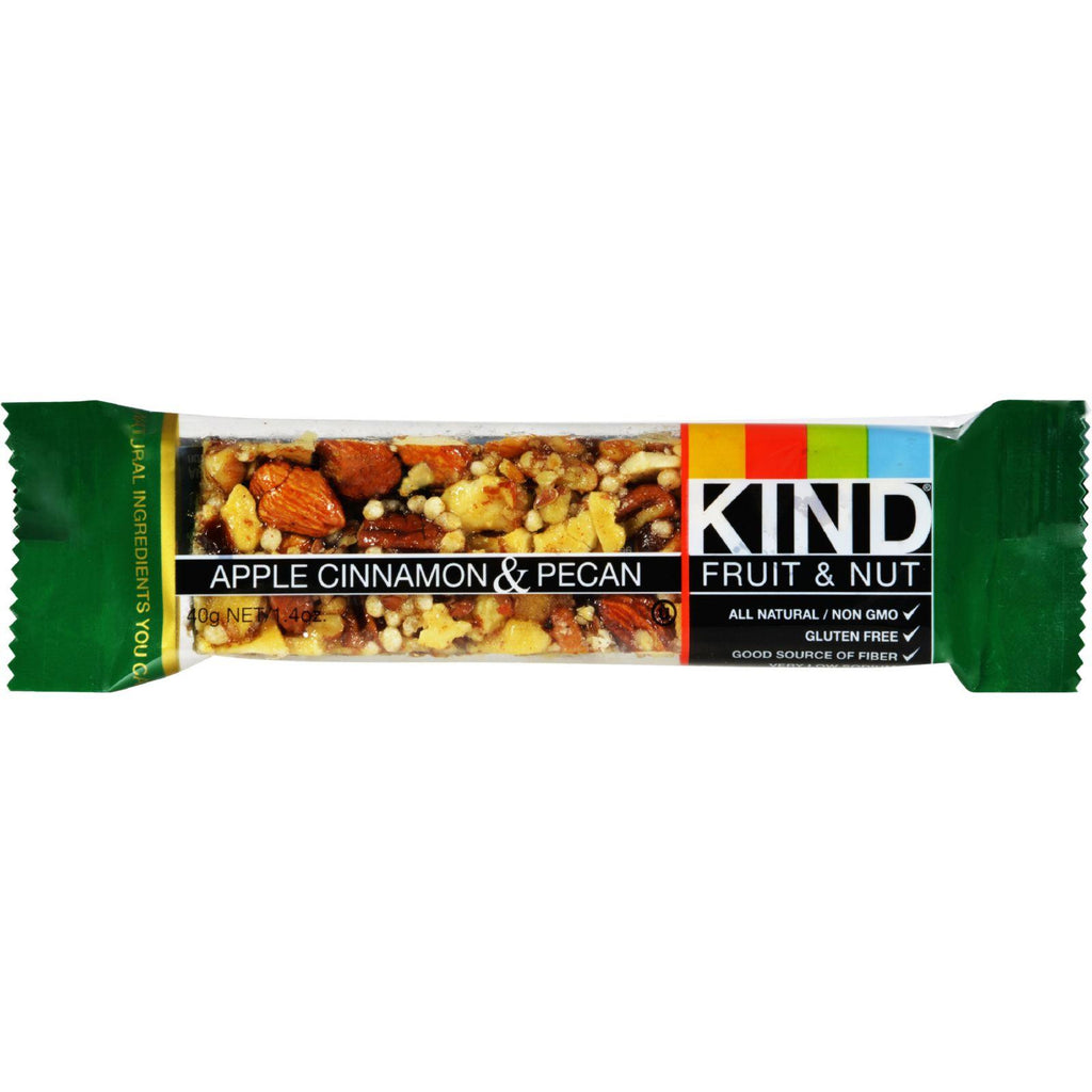 Kind Bar - Apple Cinnamon And Pecan - Case Of 12 - 1.4 Oz-Kind-pantryperks