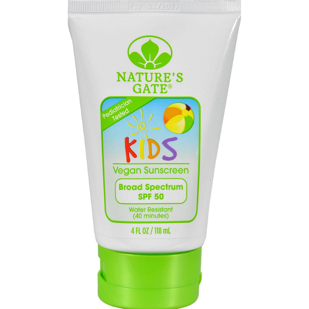 Nature's Gate Kid's Block Spf 50 Sunscreen Lotion - 4 Fl Oz-Nature's Gate-pantryperks