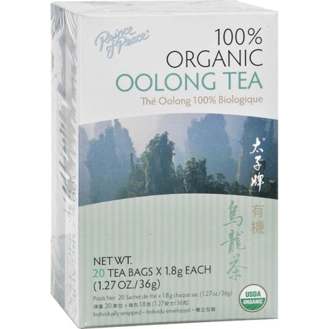 Prince Of Peace Organic Oolong Tea - 20 Tea Bags-Prince Of Peace-pantryperks