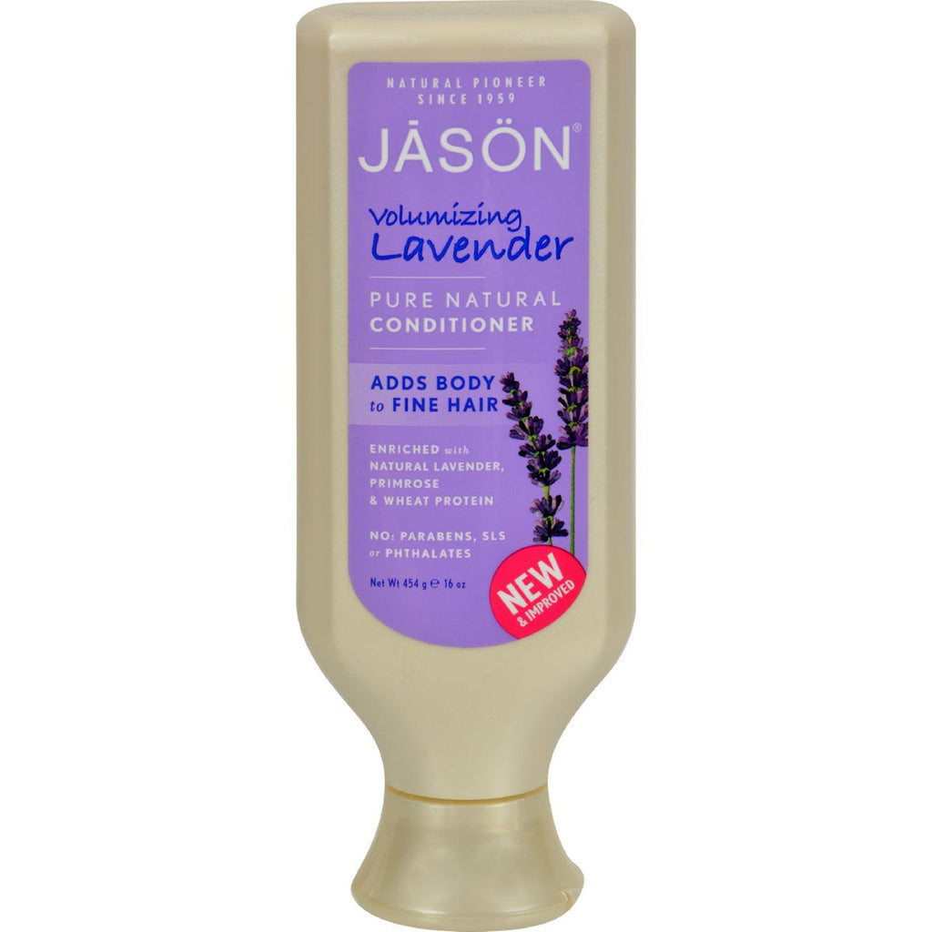 Jason Hair Strengthening Conditioner Lavender - 16 Fl Oz-Jason Natural Products-pantryperks