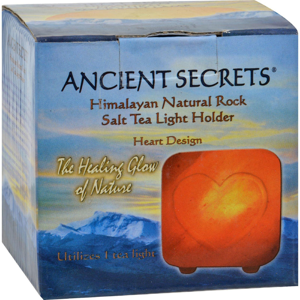 Ancient Secrets Himalayan Salt Tea Light Heart - Pack-Ancient Secrets-pantryperks