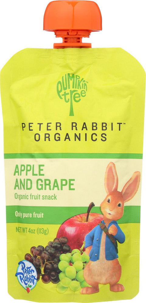 Peter Rabbit Organics Pure Fruit Snack Apple and Grape - 4 oz-Peter Rabbit Organics-pantryperks