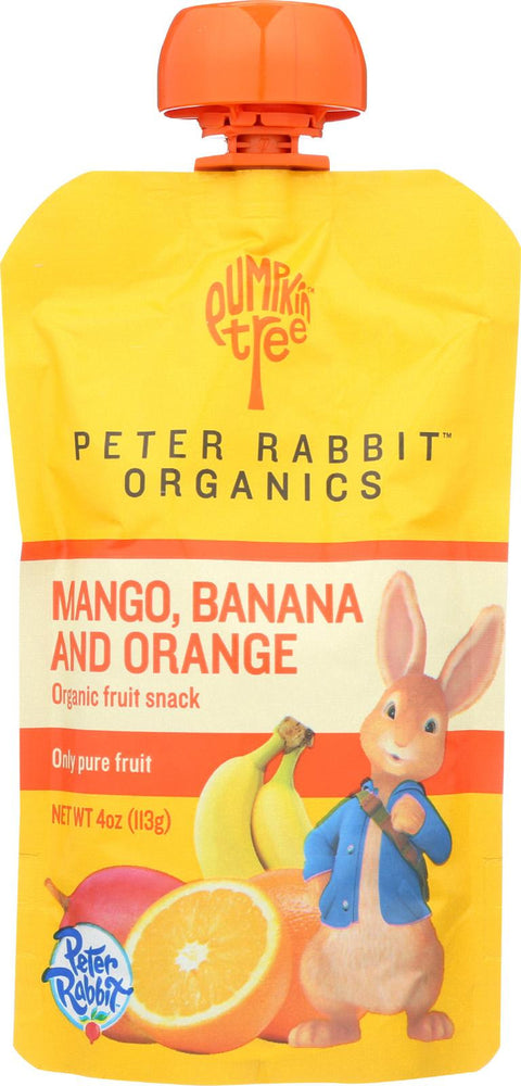 Peter Rabbit Organics Pure Fruit Snack Mango Banana and Orange - 4 oz-Peter Rabbit Organics-pantryperks