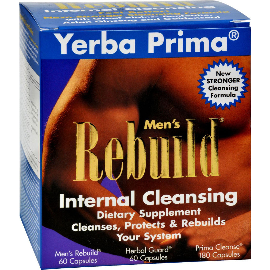Yerba Prima Men's Rebuild Internal Cleansing - 1 Kit-Yerba Prima-pantryperks