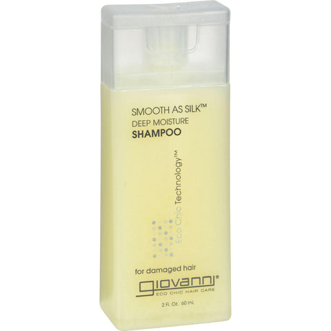 Giovanni Smooth As Silk䋢 Deep Moisture Shampoo - 2 fl oz-Giovanni Hair Care Products-pantryperks