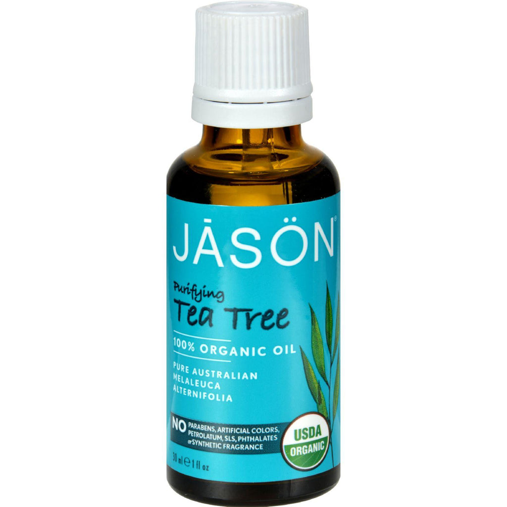 Jason Tea Tree Oil Organic - 1 fl oz-Jason Natural Products-pantryperks