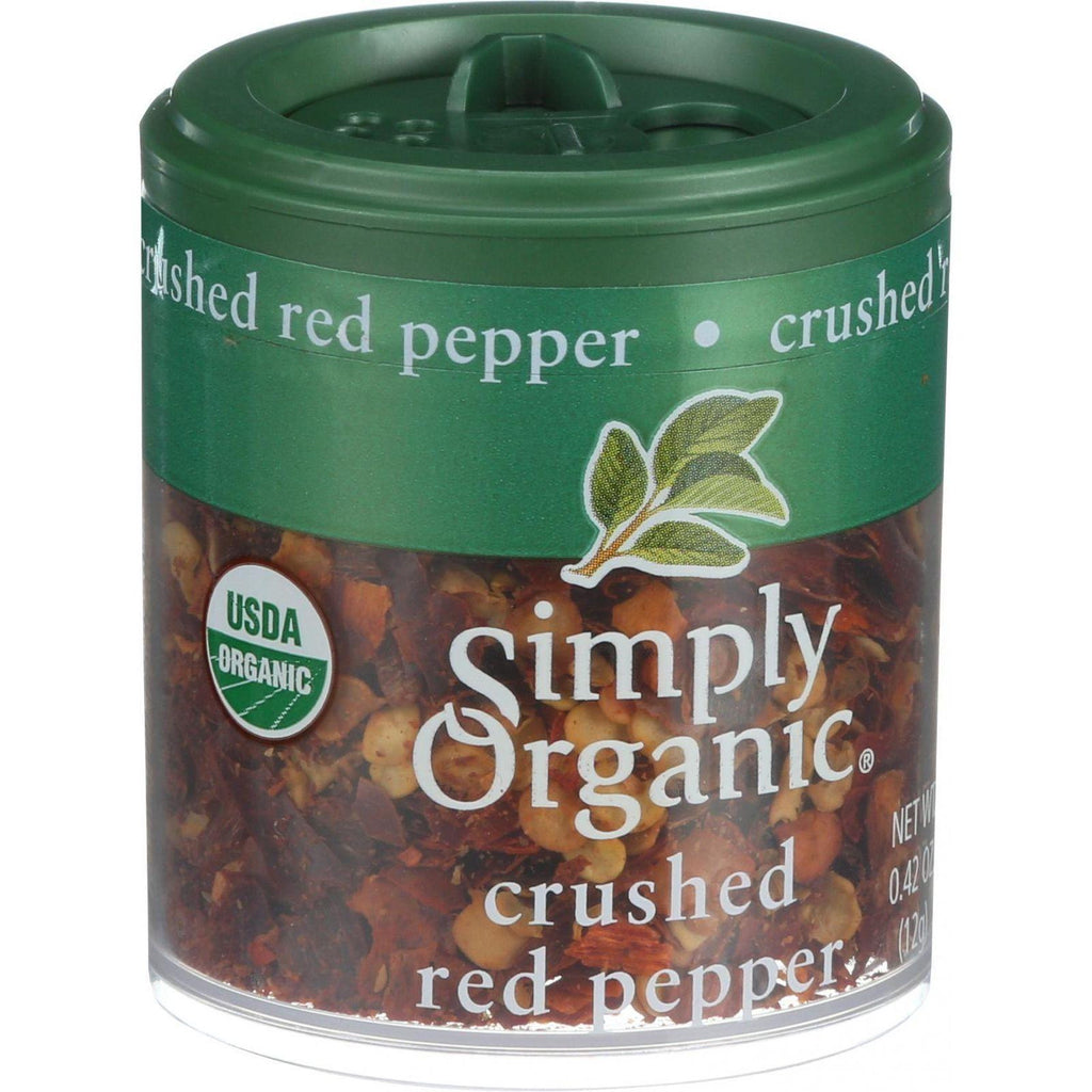 Simply Organic Crushed Red Pepper - Organic - .42 Oz - Case Of 6-Simply Organic-pantryperks