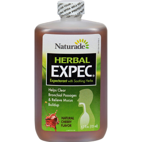 Naturade Herbal Expec Cherry - 4.2 Fl Oz-Naturade-pantryperks