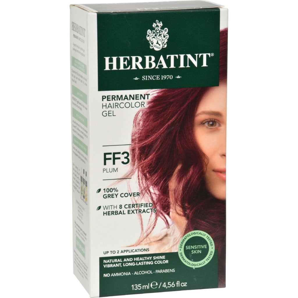 Herbatint Haircolor Kit Flash Fashion Plum FF3 - 1 Kit-Herbatint-pantryperks