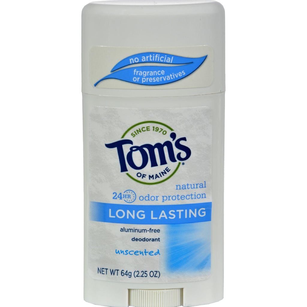 Tom's of Maine Natural Deodorant Aluminum Free Unscented - 2.25 oz-Tom's Of Maine-pantryperks