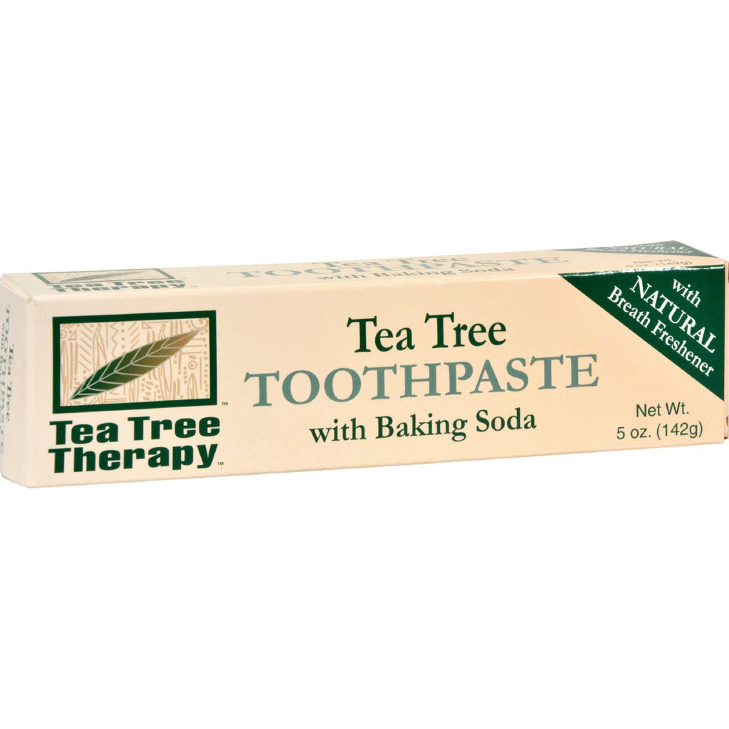 Tea Tree Therapy Toothpaste - 5 Oz-Tea Tree Therapy-pantryperks