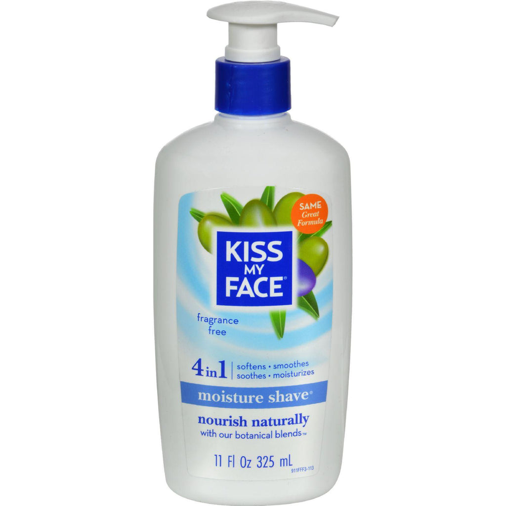 Kiss My Face Fragrance Free Shave Cream - 11 Fl Oz-Kiss My Face-pantryperks