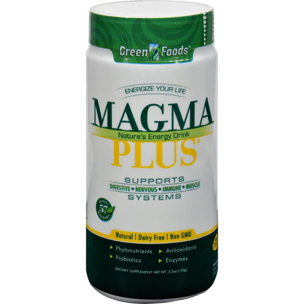 Green Foods Magma Plus Powder - 5.3 Oz-Green Foods-pantryperks