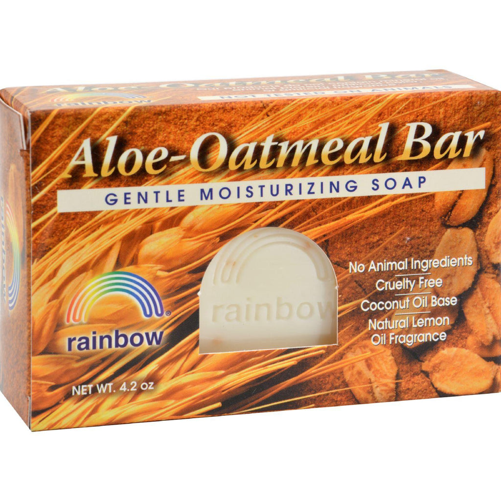 Rainbow Research Bar Soap Aloe Oatmeal - 4 Oz-Rainbow Research-pantryperks