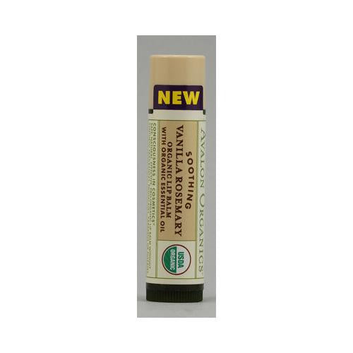 Avalon Organics Soothing Organic Rosemary Lip Balm Vanilla - 0.15 Oz - Case Of 24-Avalon-pantryperks