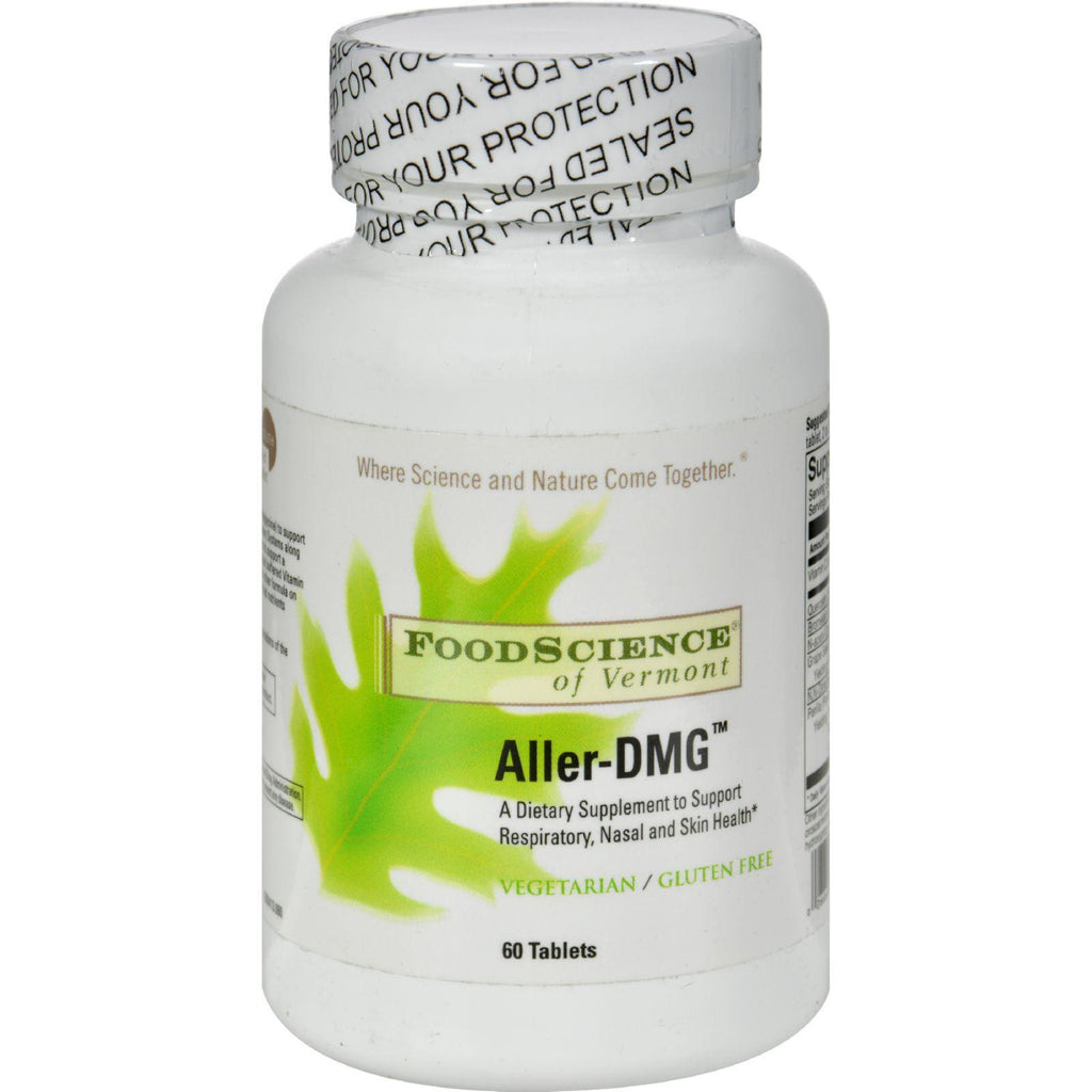 Foodscience Of Vermont Aller-dmg - 60 Tablets-Food Science Of Vermont-pantryperks
